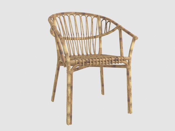 rattan chair lolahome 3D