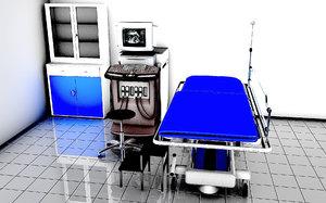 3D ultrasound room