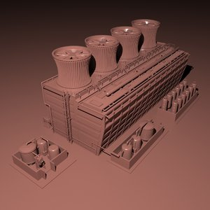 3D industrial reactor