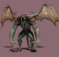 demon wings 3D