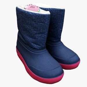 scan boots 3D