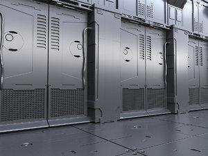 3D sci fi