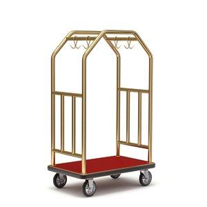 cart hotel 3D model