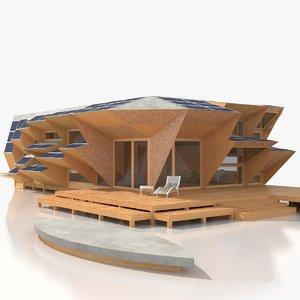 3D endesa pavilion model
