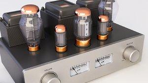 amplifier tube 3D