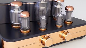 amplifier tube 3D