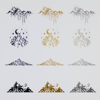 Geometric decor pack #2 (Mountains)