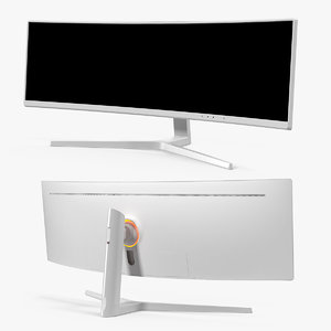 ultrawide gaming monitor screen model