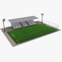 3D model mini-foot pitch