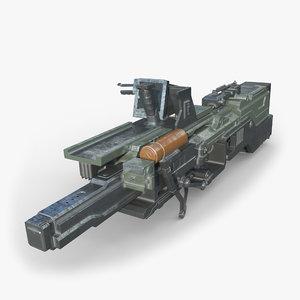 plasma rifle 3D