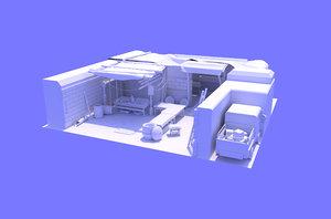 3D market place