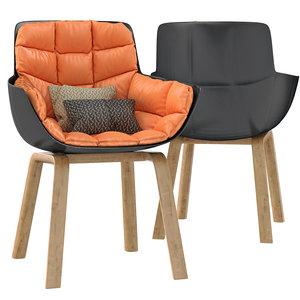 3D husk chair b
