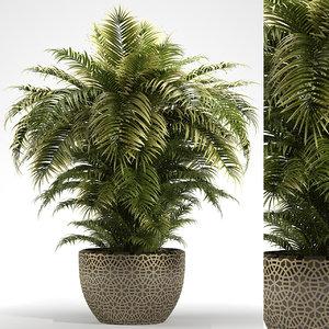 3D plants 222 indoor
