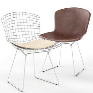 3D bertoia chair