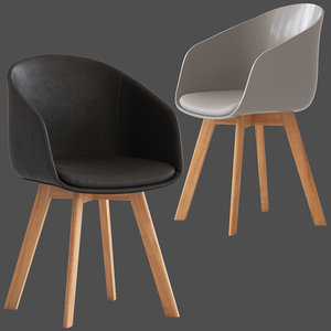 cult furniture cohen chair 3D model