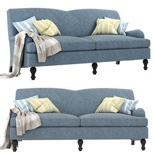 3D model culver sofa