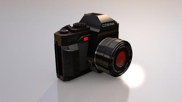 cosina photo camera 3D model
