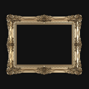 3D classic frame model