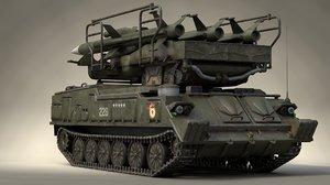 soviet sa-6 gainful 2k12 3D