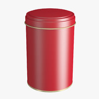 3D container tin