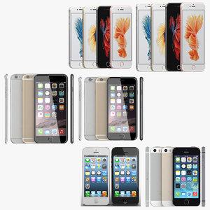 iphone 6s 6 3D model