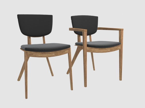 diuna chair armchair oasiq 3D model