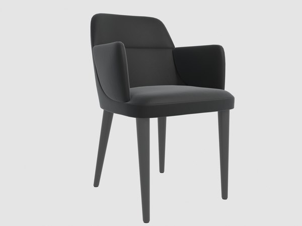 jackie chair gallotti radice 3D model