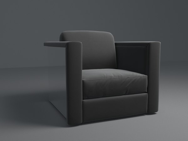 lounge seating tanya leighton 3D model