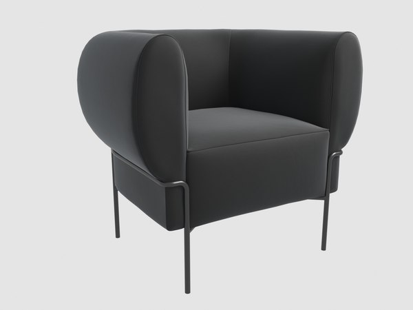 madda lounge chair michael 3D model