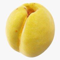 3D apricot 02 hi polys