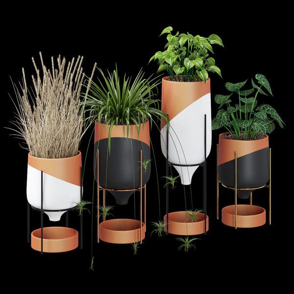 tabletop pot 3D model