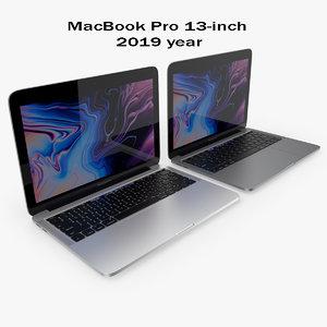 macbook pro 13-inch 3D model