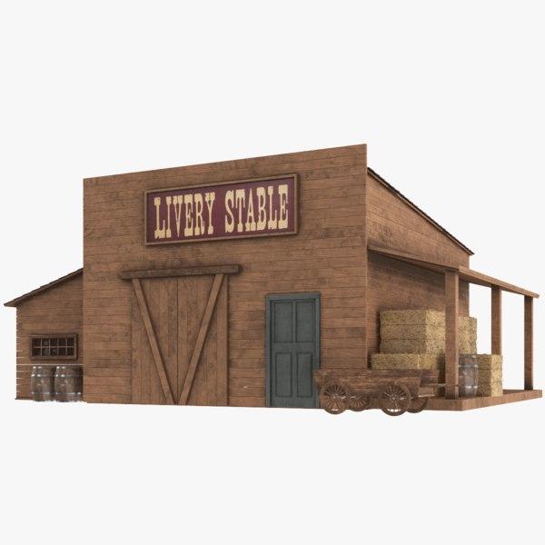 western stable model
