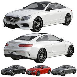 3D model mercedes benz e class