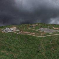 factory terrain buildings 3D