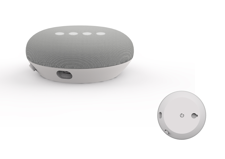 google home mini white 3D