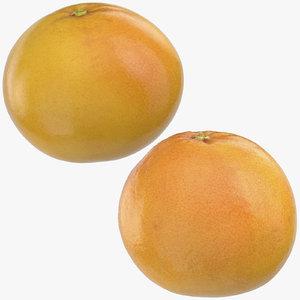3D grapefruits 03