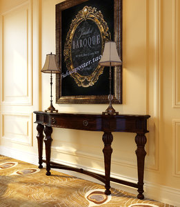 3D table console classical