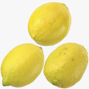 3D lemons 02