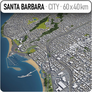 santa barbara surrounding area model
