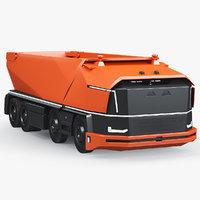 3D autonomous dumper truck