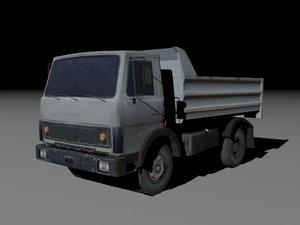 3D model maz-5551 truck