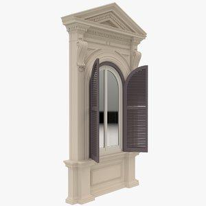 3D window x3