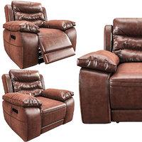 harveys monterano recliner armchair 3D model