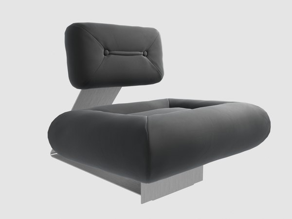 aran lounge chair oscr 3D model