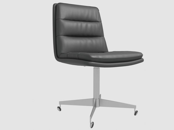 griffith leather desk chair 3D