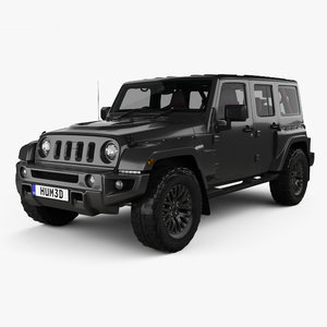 jeep wrangler jc300 3D model
