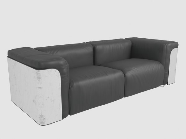 3D saint-germain sofa giopagani
