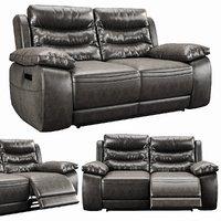3D harveys monterano recliner 2 seater