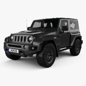 3D jeep wrangler jc300